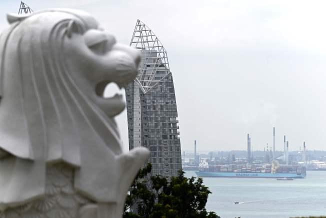 新加坡是全球航運樞紐。(Getty Images)