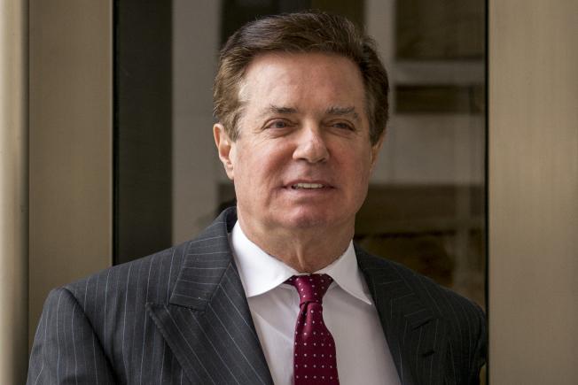 川普總統的前競選經理馬納福因為逃稅和銀行詐欺被判刑,圖為馬納福去年出庭的資料照片。(美聯社)