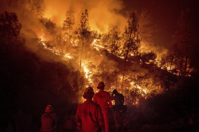 太平洋瓦斯電力公司為加州野火賠償10億元。(美聯社)