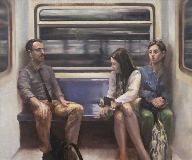 「紐約地鐵站」勾畫出紐約的人文縮影。。(孫晨禕提供)