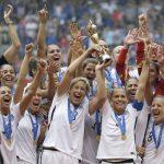 三八婦女節出手 女足國家隊告美國足協 控薪酬性別歧視