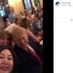 富豪召妓案 Spa前華裔女老闆 與川普同看超級盃