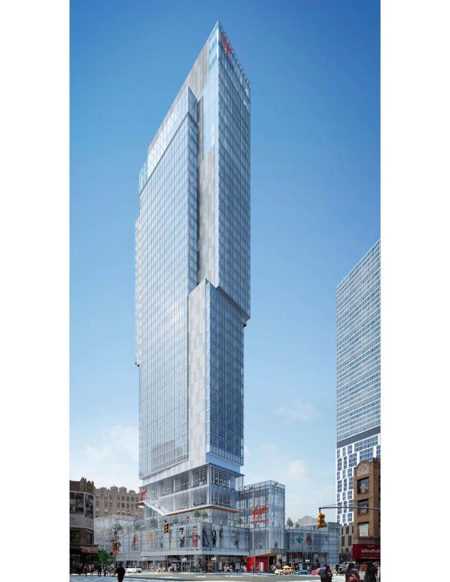 這是林氏集團在曼哈頓興建的Virgin Renders加盟酒店。(林氏集團提供)