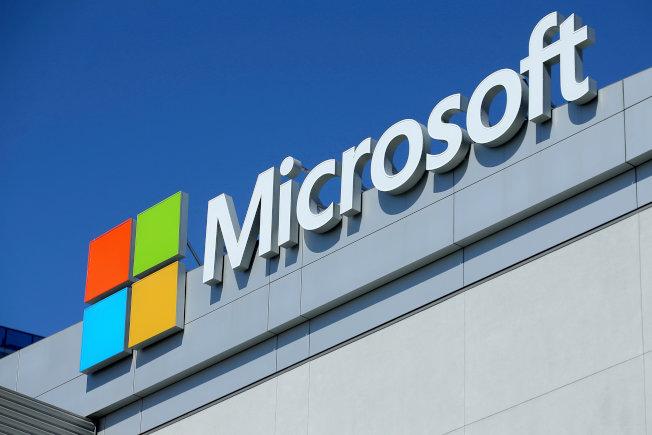 微軟公司以在台灣的鴻海集團違反專利授權協議為由,在加州的法院提起訴訟。(路透)