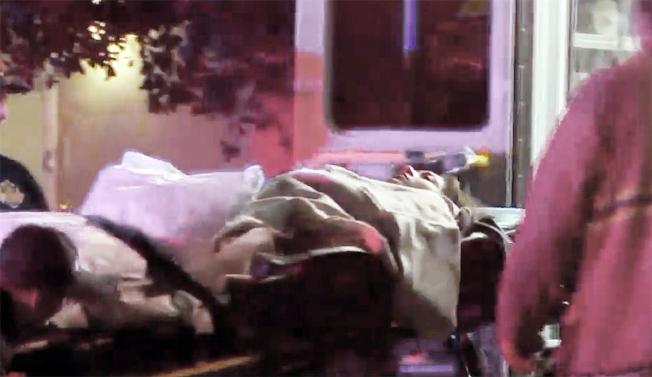受害女生被送往醫院救治,目前情況已經穩定。(KTLA5電視截圖)