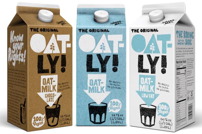 瑞典燕麥奶品牌Oatly。 網路照片