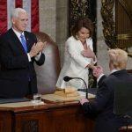 波洛西收回辦公室  將副總統趕出眾院