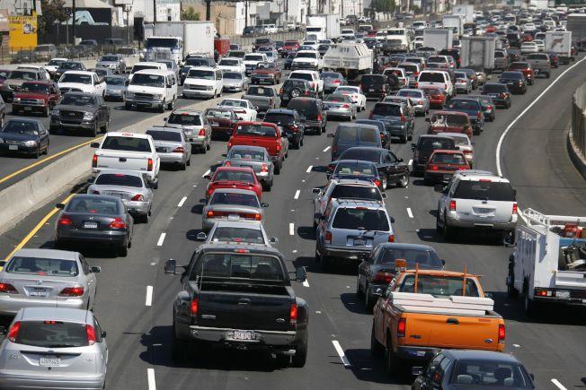 洛杉磯塞車嚴重,造成該市駕駛在全美行車驃悍度排名高居第一。美聯社