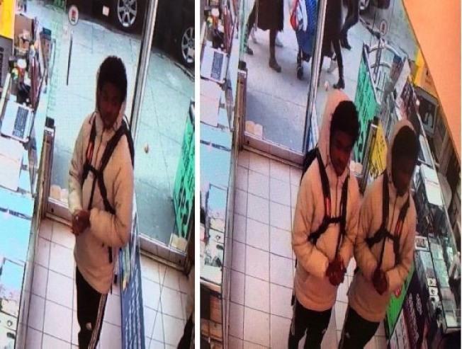 市警通緝一名涉嫌搶劫手機的非洲裔少年。(警方提供)
