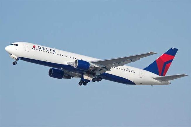 達美航空從北京飛往美國的波音767-300客機,起飛後因機械故障折返。圖為同型客機。(取材自維基百科)
