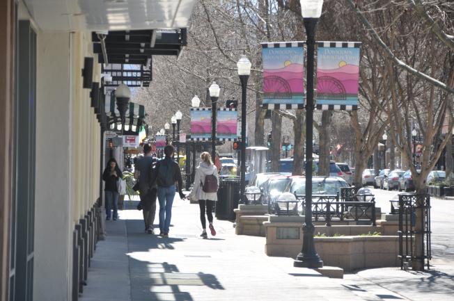 山景城市中心開發計畫已有30年未更新,市議會決議將修改市中心的開發計畫。(記者林亞歆/攝影)