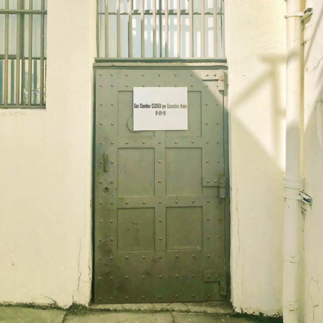 设于湾区圣昆汀监狱内的死刑执行室,已于13日起关闭。(纽森办公室)