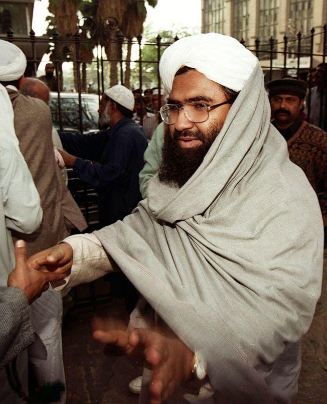 中國昨晚第4度阻撓聯合國把穆罕默德軍首腦阿茲哈(Masood Azhar)列入全球恐怖分子黑名單,引起印度民眾憤怒。Getty Images