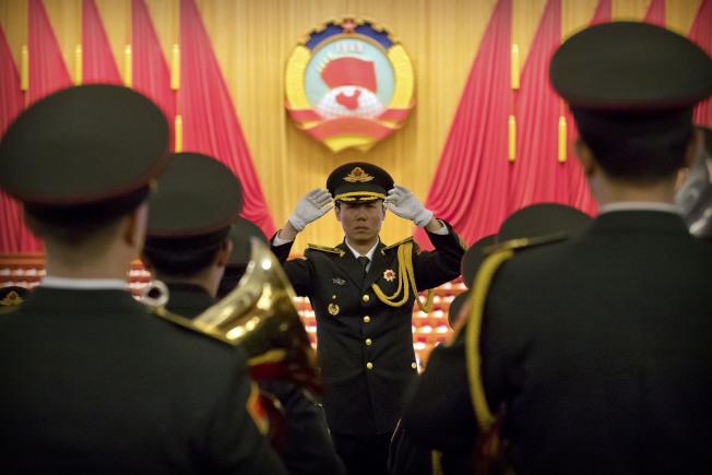 中國軍事勢力在亞洲、非洲擴張。美聯社