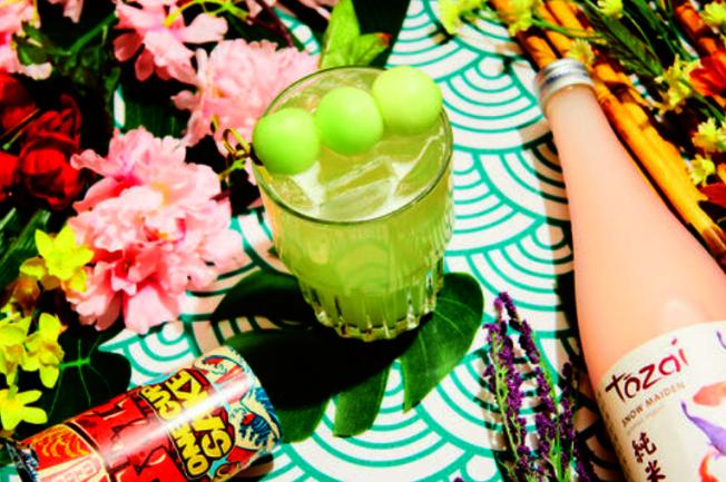 櫻花酒吧本季新飲品。(櫻花酒吧網站)
