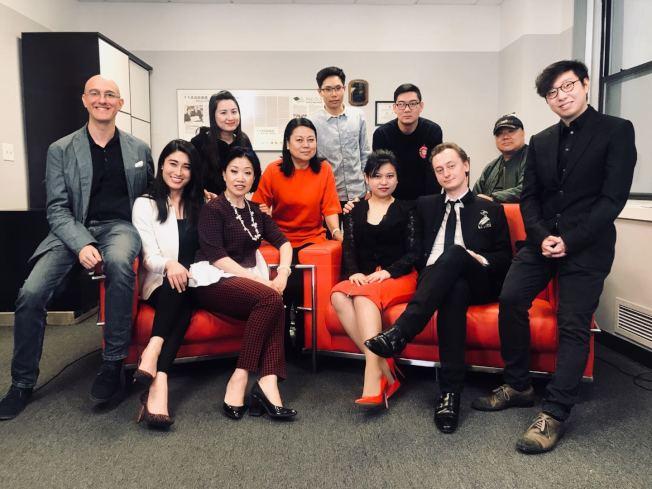 來自中國、美國、哥倫比亞、法國、西班牙等多國作曲家和音樂家合作演繹「穿越噪音」。(主辦方提供)