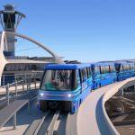 洛機場捷運動工 2023年完工