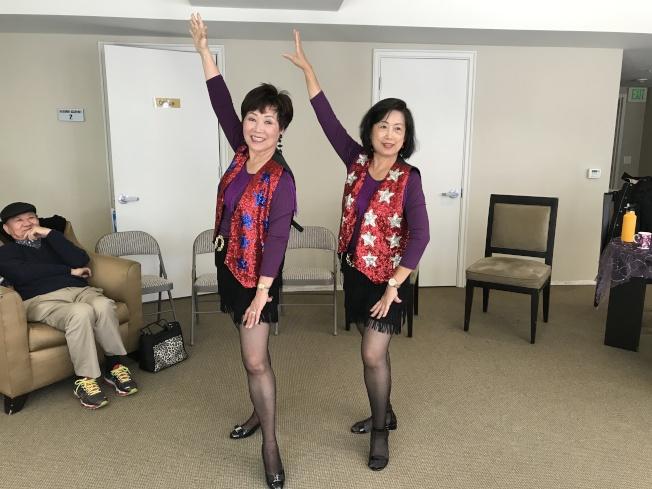 當天還有歌舞表演,彩衣娛親。(圖:主辦人提供)