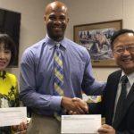 世報支持教育 捐核桃高中6千元