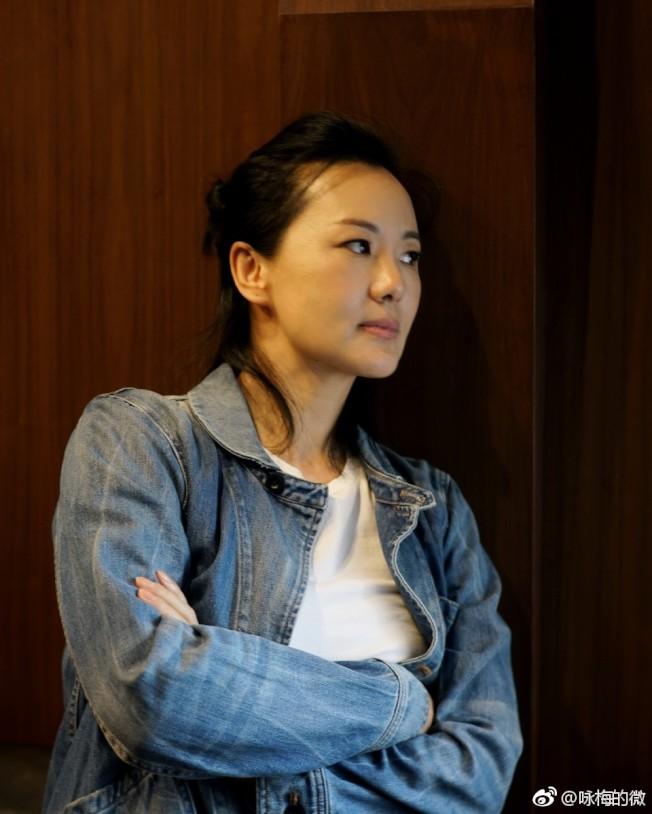 柏林影后詠梅吐槽中生代女演員「機會太少」。(取材自微博)