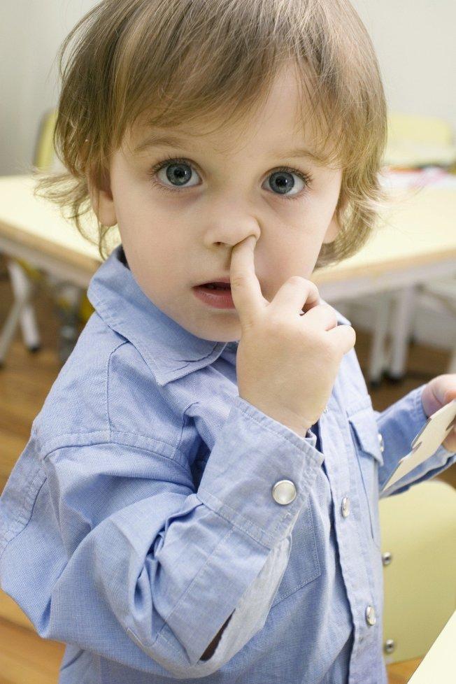 美國皮膚科醫師認為,若想改善過敏,增加免疫力,吃鼻屎是一個訓練免疫系統的方式。圖片來源ingimage。