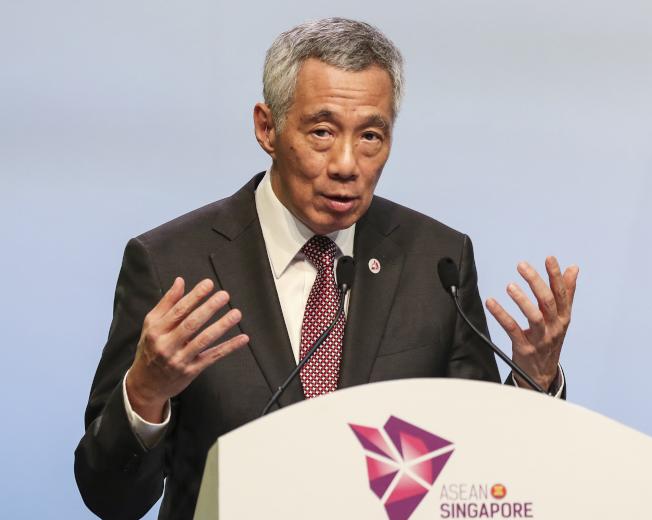 新加坡總理李顯龍的就醫資料去年在網路被盜取。(美聯社)