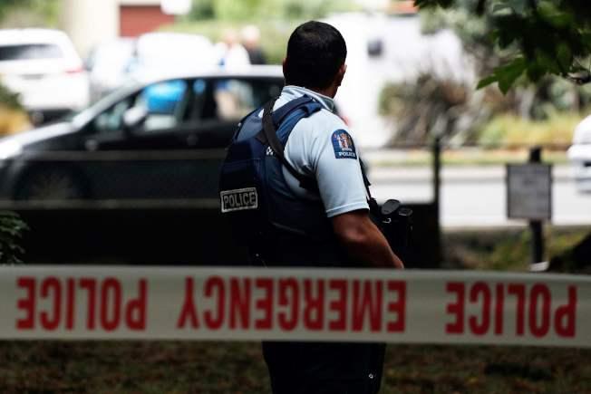 紐西蘭基督城兩座清真寺15日發生重大槍擊喋血案,目前有四名嫌犯遭警逮捕拘留。Getty Images