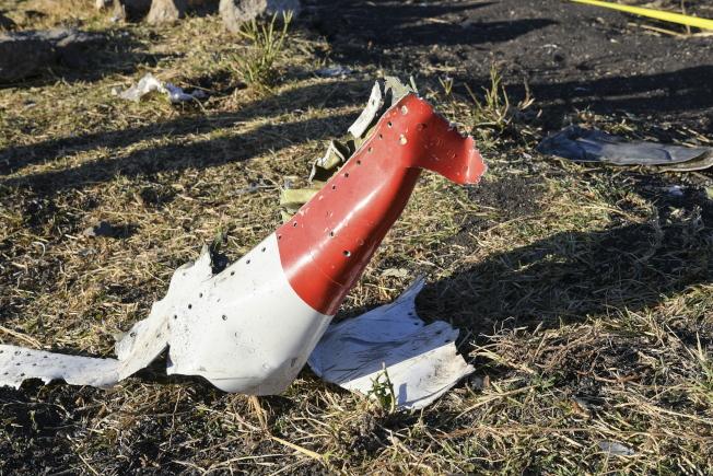 衣索比亞航空一架波音737 MAX 8客機10日墜毀,造成機上157人全數罹難。(歐新社)