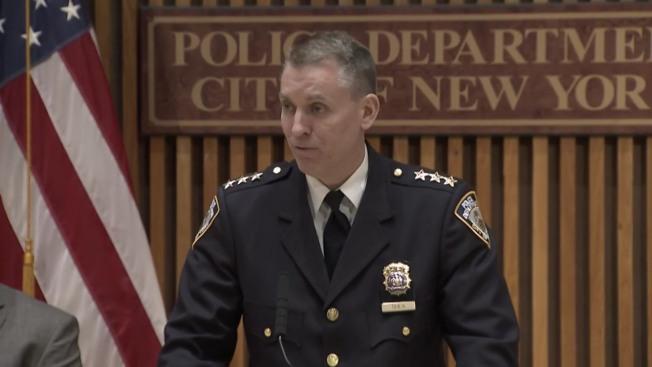 希爾表示24歲的嫌犯正被關押在新澤西。(取自視頻截圖)