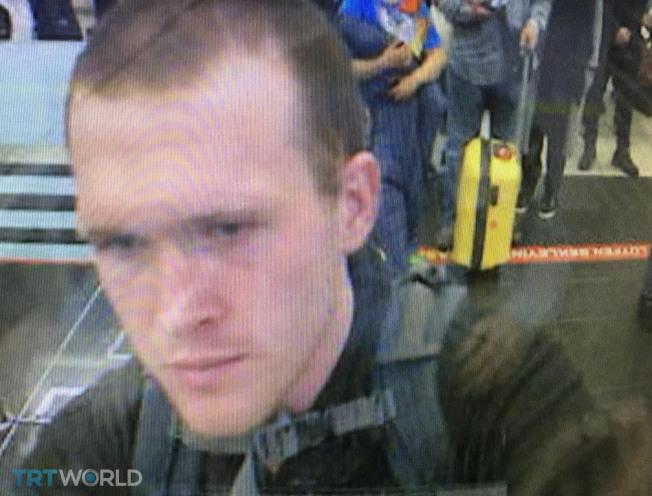 土耳其國營媒體發出的照片顯示,攻擊紐西蘭清真寺的槍手塔倫於2016年9月13日出現在伊斯坦堡國際機場,資料顯示他曾數度前往土國,並在那裡待了很長一段時間。(Getty Images)