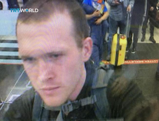 紐西蘭基督城清真寺槍擊案凶手塔倫。(美聯社)