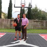 陳柏嘉獲選福遍籃球明星 唯一華人