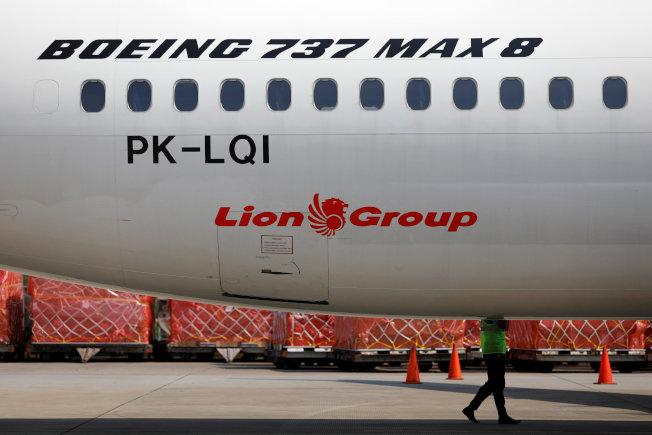 去年10月失事的印尼獅航,失事原因與上周失事的衣航班機相似。(路透)