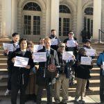 小商業者保護法延宕 紐約商家抗議