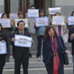 華裔反毒人士州府示威 AB362終未過關