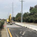 聖他克拉拉市赫見大坑 封路搶修