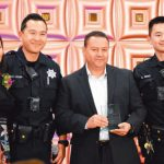 肖化區華人 表揚巡警服務熱忱