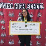 柯汶納高中李天娜 獲愛迪生4萬獎學金