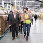 亞馬遜第三發貨中心落成馬州 霍根積極爭取工作機會