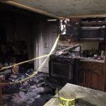 核桃市老舊房屋火災還好無人傷亡
