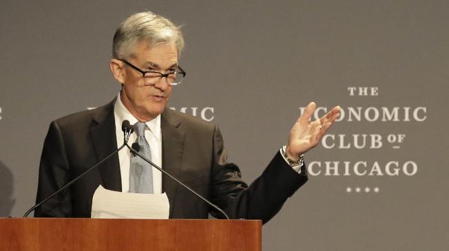 Fed宣告不再升息拖累了殖利率,也相對打壓了銀行股。(美聯社)