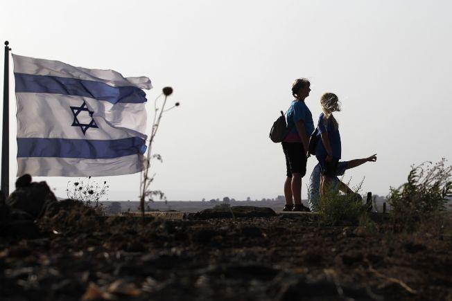 以色列在1967年中東戰爭中從敘利亞手中奪下戈蘭高地,並且加以吞併,但國際社會並不承認。Getty Images