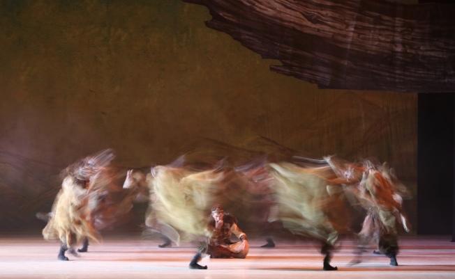 中國歌劇舞劇院舞劇「昭君出塞」在林肯中心上演。(記者洪群超/攝影)
