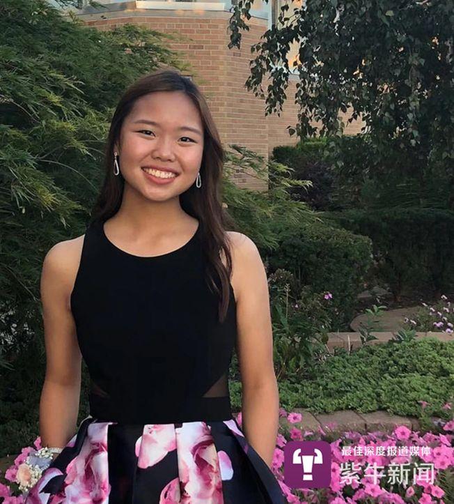 楊貝怡現在是密西根州迪爾伯恩的Divine Child High School學校11年級學生。(取材自紫牛新聞)