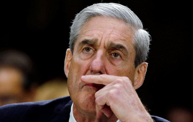 特別檢察官穆勒已把通俄案調查報告交給司法部長巴維理,圖為曾任聯邦調查局長的穆勒。(路透)