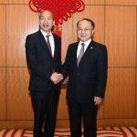 韓國瑜訪港拚經濟 見特首、密會中聯辦主任