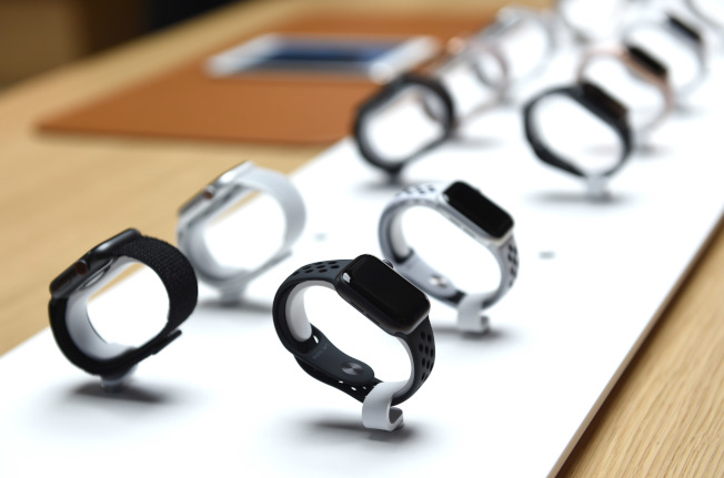 蘋果手表Apple Watch可用於監控用戶的健康變化。(Getty Images)