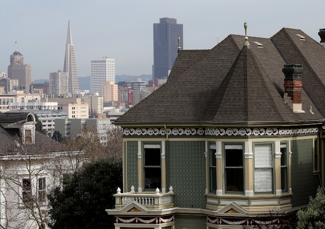 美國西岸大城舊金山向來以高房價聞名。(Getty Images )