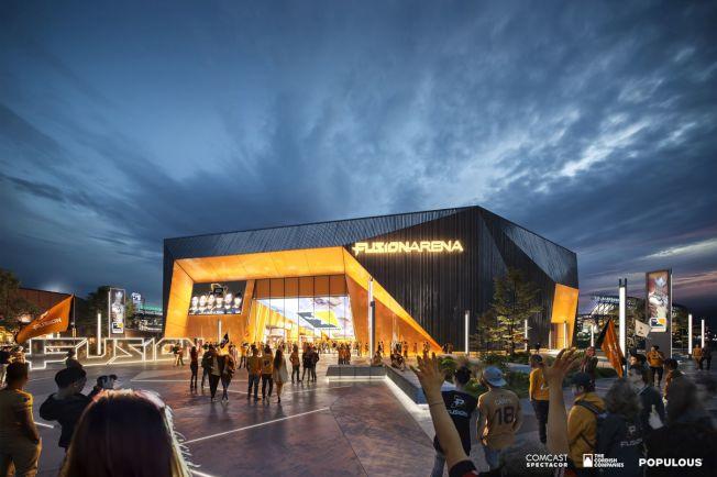 全美首座電競體育館將落戶費城。(Populous)