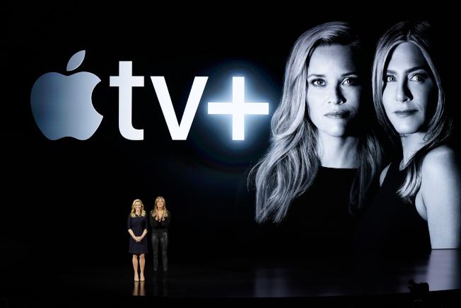 好萊塢眾星紛紛表態支持Apple TV+,為其提供原創內容。(美聯社)